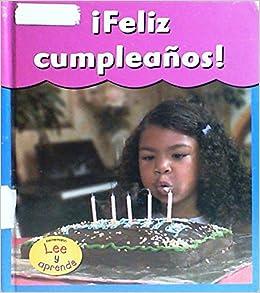 Amazon.com: Feliz Cumpleanos! / Happy Birthday! (Fiestas Con ...