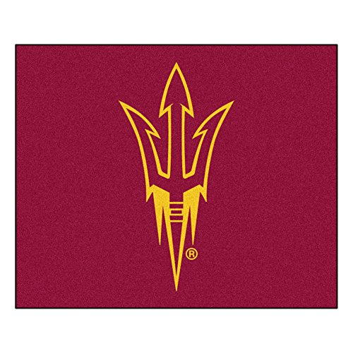 Arizona Rug Tailgater State (NCAA Arizona State University Sun Devils Tailgater Mat Rectangular Outdoor Area Rug)