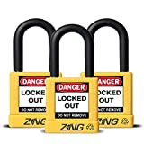 ZING RecycLock Safety Padlock, Keyed Alike