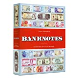 Bank Note Themed Currency Album for Small & Modern Currency