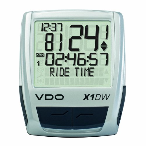 VDO X1DW Wireless Bicycle Computer (Vdo Computer Bicycle)