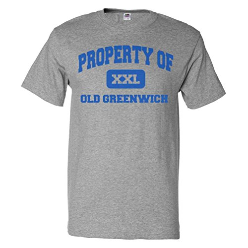 ShirtScope Property of Old Greenwich CT T shirt Funny Tee - Greenwich Shops Ct