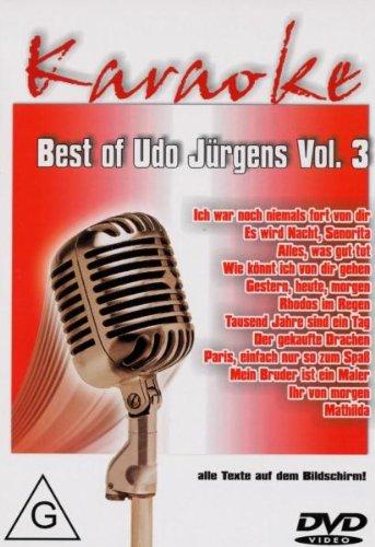(Best of Udo Jürgens Vol.3-Karaoke Dvd [Import allemand])