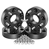 Orion Motor Tech 4PCS 5x5 Wheel Spacers, 1.5'' Hubcentric, 71.5mm Bore, 1/2''-20 Studs, for 2007-2018 Jeep Wrangler JK, 1999-2010 Grand Cherokee WJ WK, 2006-2010 Commander XK