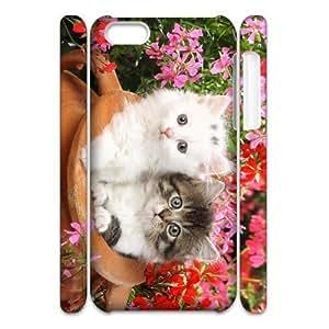 ALICASE Design Diy hard Case Lovely Cat For Iphone 4/4s [Pattern-1]
