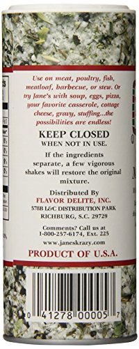 Jane's Krazy Mixed Up Salt, 4-Ounce Unit (Pack of 12) by Jane's Krazy (Image #4)