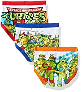 Teenage Mutant Ninja Turtles Boys' TMNT Toddler 7 Pack Underwear