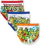 Nickelodeon Teenage Mutant Ninja Turtles Toddler Boys TMNT 7 Pack Underwear, Assorted, 2T/3T