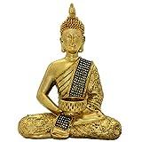 10.24''(H) Buddha Statue of Thailand Sit Buddha Ornaments Handicrafts Home Decorations BS115
