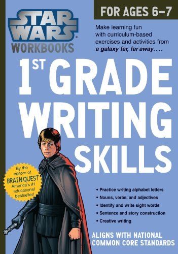 Star Wars Workbook: 1st Grade Writing Skills (Star
