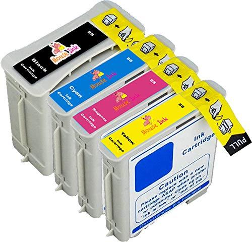 Color Pro Officejet K550 (1 Set Mouse Ink Compatible HP 88XL Cartridge Combo BK/C/M/Y 9396 9391 9392 9393 Works with OfficeJet Pro K5400 K5400dtn K5400tn OfficeJet Pro K550 K550dtn K550dtwn K8600 K8600dn L7580 L7590 Printers)