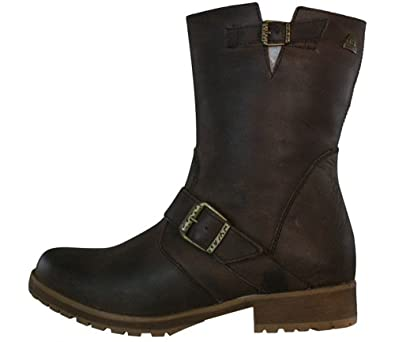 Amazon.com | MTNG Originals Womens Leather Boots - Brown - SIZE US ...