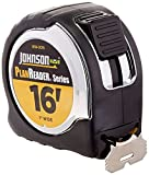 Johnson Level 1819-0016 16-Foot Plan Reader Power Tape, Black/Silver