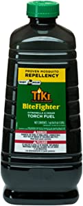 TIKI Brand BiteFighter Mosquito Repellent Torch Fuel, 64 Ounces