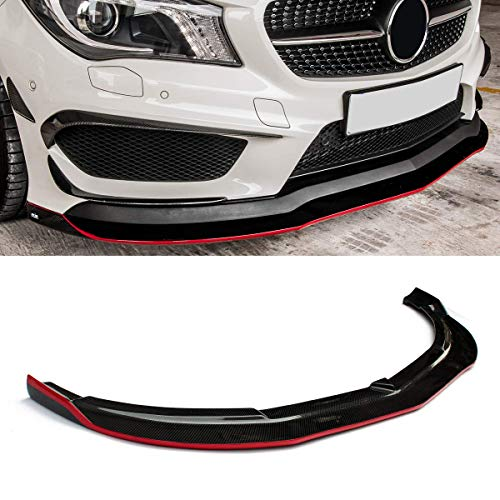 Fandixin W117 Diffuser ABS Rear Bumper Diffuser /& Stainless Steel 4-Outlet Exhaust Tips Set for Mercedes Benz CLA Class W117 2017-in Sport Edition /& CLA45 AMG 2017-IN