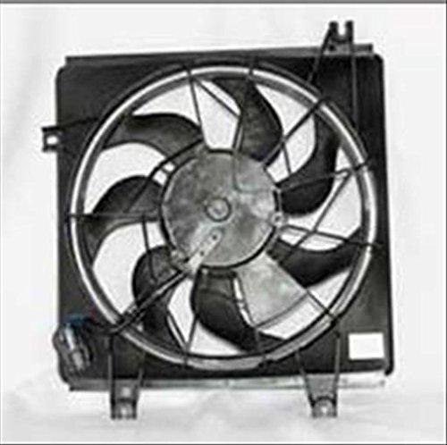 OE Replacement Kia Sephia Condenser Fan (Partslink Number KI3113104)