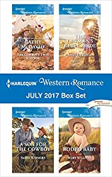 Harlequin Western Romance July 2017 Box Set: The Cowboy's Twin Surprise\A Son for the Cowboy\The Lawman's Rebel Bride\Rodeo Baby