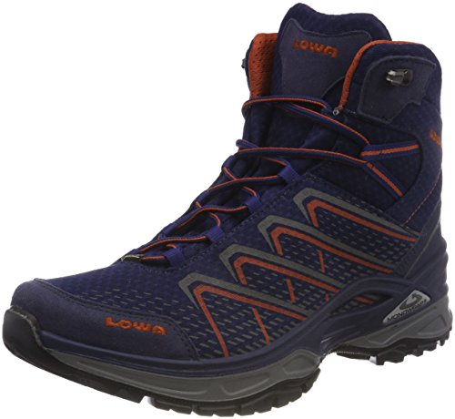 Lowa Men's Ferrox Evo GTX Mid High Rise Hiking Boots Blue (Navy/Rost 6975) kEwXk