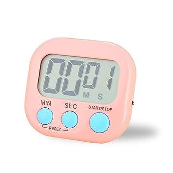 Compra Reloj Digital conTemporizador de Cocción de Cocina, Temporizador de Cocina con Alarma Sonora y Pantalla LCD Más Grande para Personas Olvidadas, ...