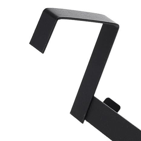 GuanjunLI - 1 perchero de metal para colgar sobre la puerta ...