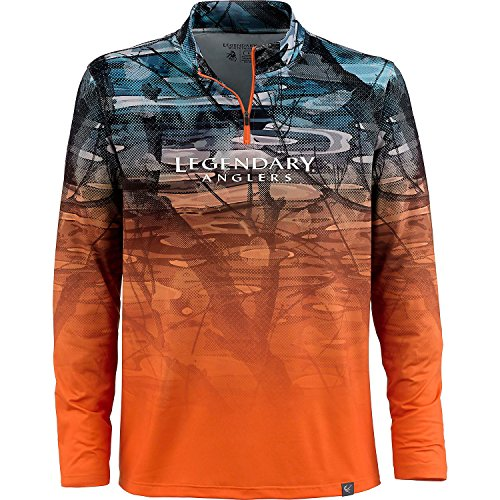 Legendary Anglers Men's Copper River 1/4 Zip X-Large