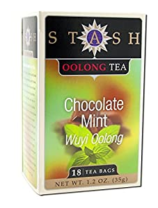Oolong Tea Chocolate Mint Stash Tea 18 Bag from Stash Tea