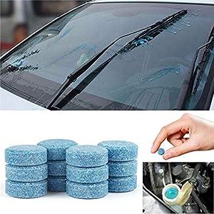 Jintes Compresse effervescenti concentrate per pulitori di tergicristalli in vetro per auto solide Accessori per auto 2 spesavip