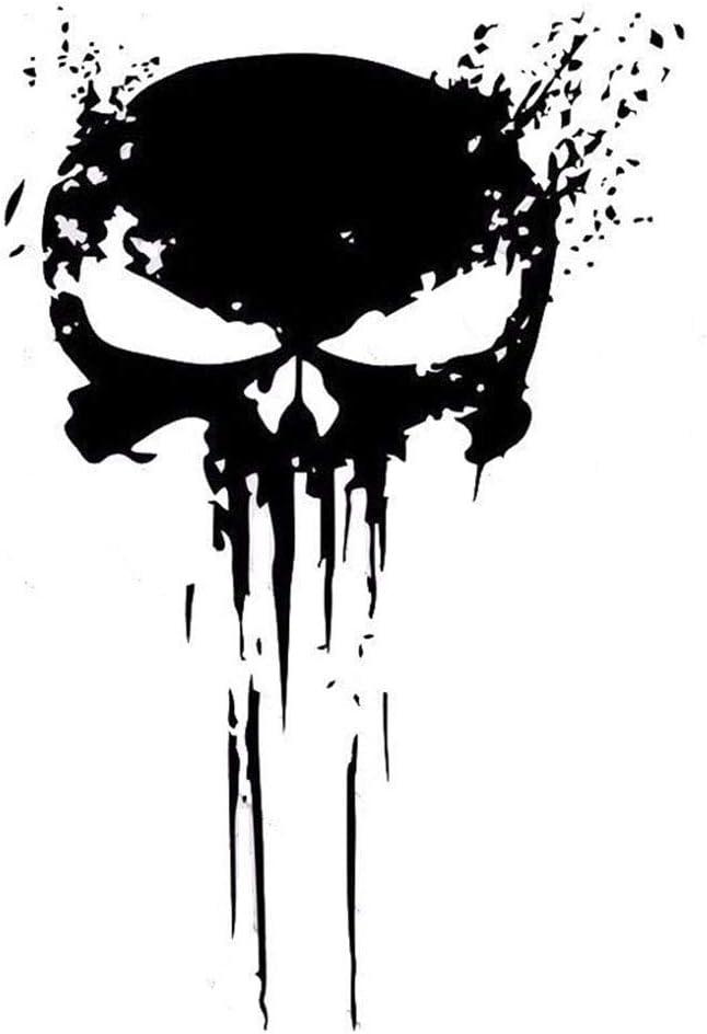 Punisher Skull Blood Vinyl Car Decals Stickers Motorcycles Decoration