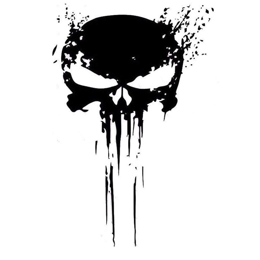 Punisher Skull Blood Vinyl Car Stickers Calcoman/ías Motos Decoraci/ón