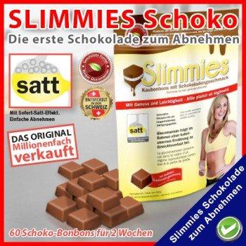 60 Stuck Slimmies Schokolade Zum Abnehmen Aus Tv Amazon De