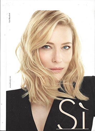 Scented **PRINT AD** With Cate Blanchett For 2015 Giorgio Armani SI **PRINT - Armani 2015 Giorgio