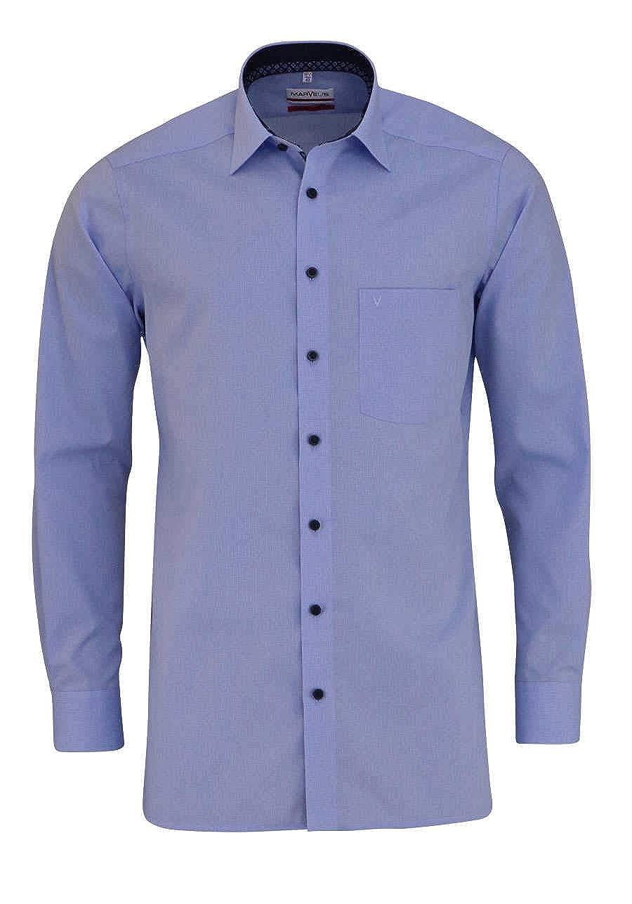 Marvelis - Camisa Formal - Cuadros - Clásico - para Hombre