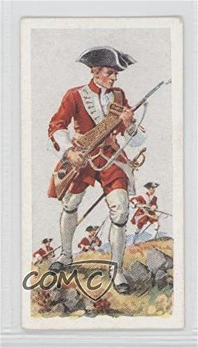 Buckinghamshire Light (The 43rd Foot (1742). The Oxford and Buckinghamshire Light Infantry. (Trading Card) 1937 Carreras History of Army Uniforms - Tobacco [Base] #40)