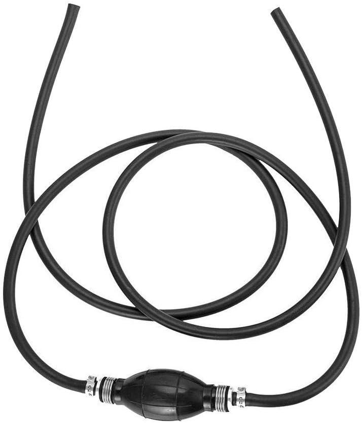 Shentesel Car Boat Diesel Oil Petrol Hand Fuel Pump Primer Bulb with Hose 12mm
