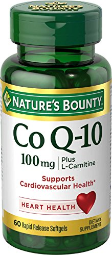 (Nature's Bounty Co Q-10 100mg Plus (with L carnitine), 60)