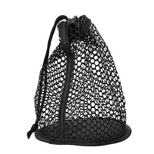 Alomejor Golf Ball Bag,Durable Nylon Mesh Nets Golf Ball Bag Cord Holder Pouch Poke for Golf Tennis Balls ()