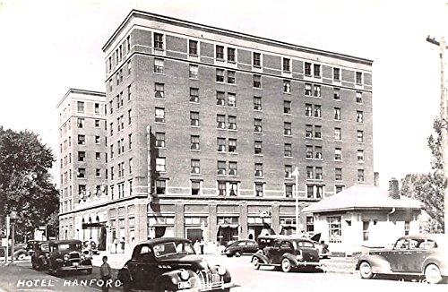Hotel Hanford Mason City, Iowa postcard