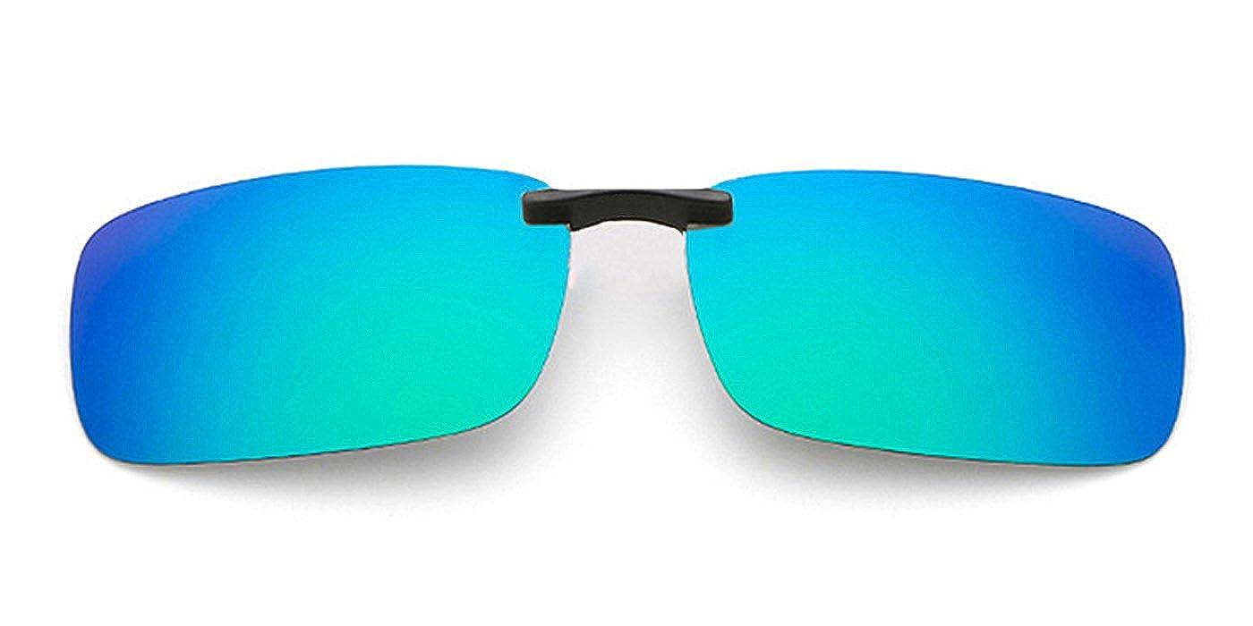 TIJN Vintage Sonnenbrillen Clip Gläser Rahmenlose Sonnenbrille Metall Sonnenbrille Männer Damen UV400 bfkbaGeLiM