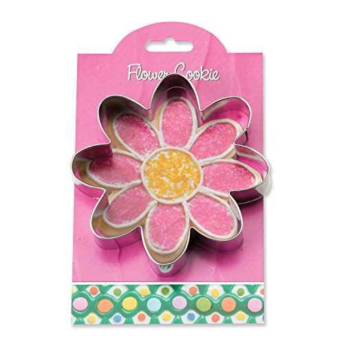 Ann Flower - Flower Cookie and Fondant Cutter - Ann Clark - 4.8 Inches - US Tin Plated Steel
