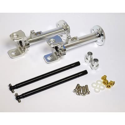 Hot Racing CB20EL08 Wide Axle Kit - Tamiya Clod Buster: Toys & Games
