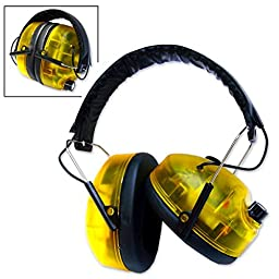 Neiko 53865A Safety Electronic Earmuffs | Impact Sport Ear Protector | ANSI S3.19
