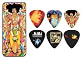 JIM DUNLOP JIMI HENDRIX  BOLD AS LOVE 12 PICK TIN