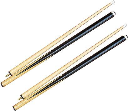 lyqdxd - Juego de 2 tacos de billar (145 cm, madera), diseño de ...