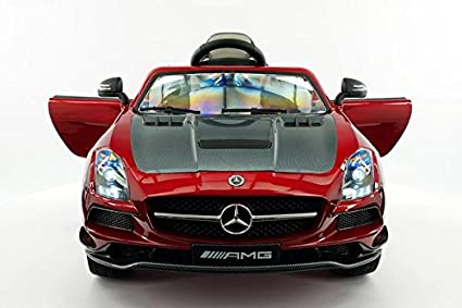 amazon com licensed mercedes sls amg final edition 12v kids ride on car mp3 mp4 color lcd battery powered rc parental remote 5 point safety harness limited edition toys games licensed mercedes sls amg final edition 12v kids ride on car mp3 mp4 color lcd battery powered rc parental remote 5 point safety harness limited