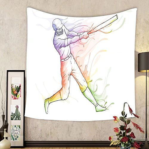 Gzhihine Custom tapestry Sports Decor Tapestry Various Round Soccer Balls in Air Fast Kick Shoot in Flame Kickoff Space Artsy Sketch Bedroom Living Room Dorm Decor Black White by Gzhihine