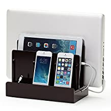 G.U.S. High Gloss Cherry Multi-Device Charging Station and Dock