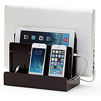 multiple iphone charging station g u s multi device charging station dock 6463