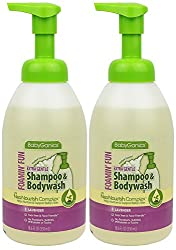 BabyGanics Shampoo & Bodywash- Lavender 18.6 oz, Pack of 2