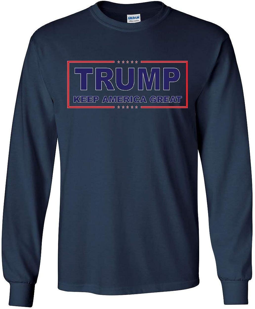 Trump Keep America Great Long Sleeve T-Shirt 2020 Election Republican POTUS Tee