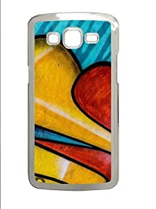 Graffitti Polycarbonate Hard Case Cover for Samsung Grand 2/7106 Transparent by supermalls